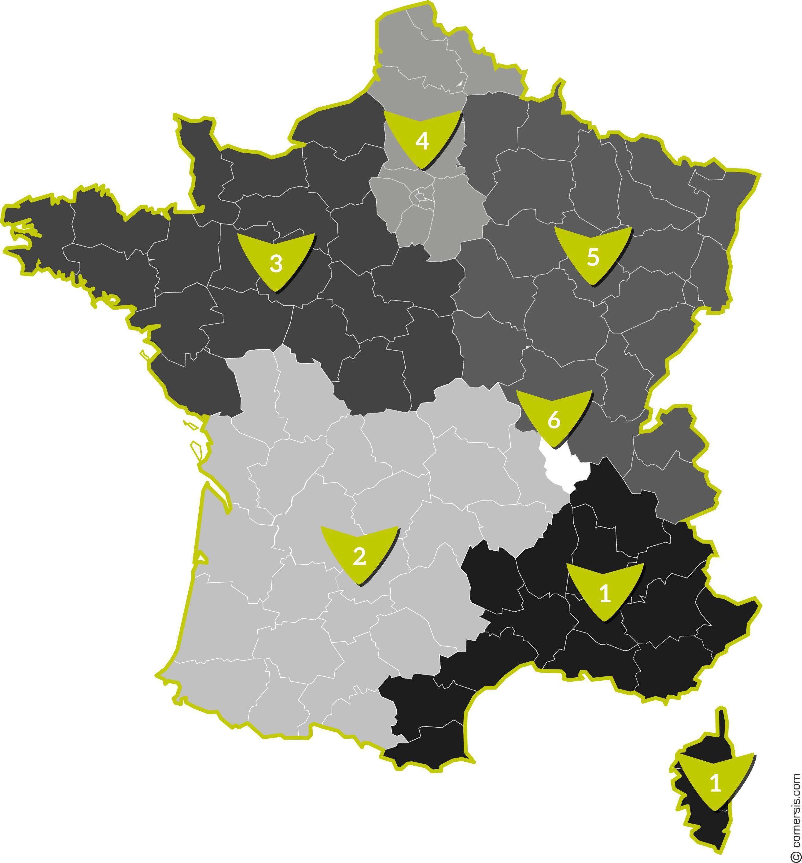 FIDLEASE-Carte de France avec répartition par commerciaux V2-location evolutive-qui sommes-nous